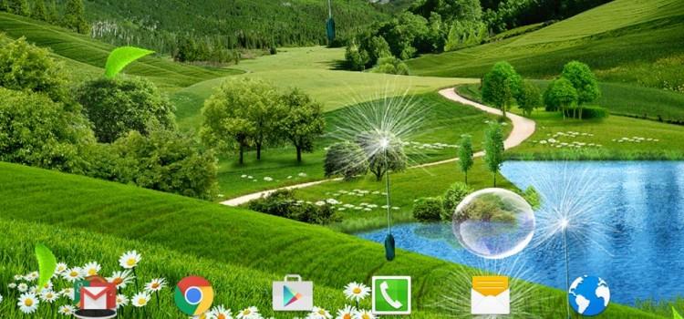 Summer Landscape Wallpaper